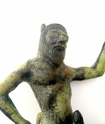 Ancient Greek Bronze Museum Mythology Statue Replica Satyrus Satyr Pan Dionysus 8