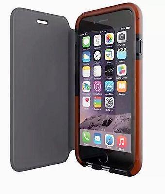 Genuine Tech21 Evo wallet flip book case cover apple iphone 6 6s 7 8 plus