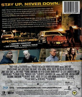 NEW BLU-RAY // ACTION // JAMESY BOY // Mary-Louise Parker, Ving Rhames, Taissa 2