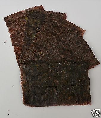 Dried Nori Seaweed Marine Fish Food Green and Dark Red 3 • EUR 2,41