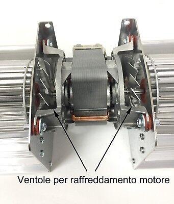 Ventilatore Tangenziale doppio diametro 80 mm 120 W alte temperature 660 m³ora 2