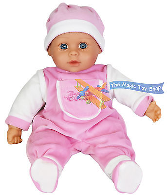 16 Sounds Crying Laughing New Born Soft Bodied Baby Doll Toy 2