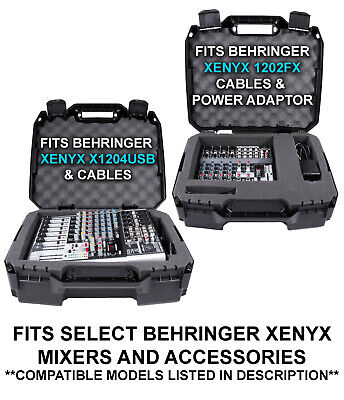 17 Inch Audio Mixer Carrying Case fits Behringer Xenyx 1202fx Mixer and More 3