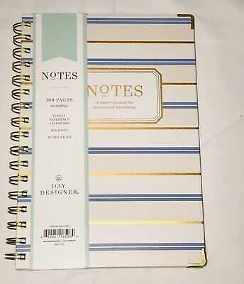 NEW Blue Sky Notebook Journal 160 Ruled Pages Hardcover Twin-Wire Binding