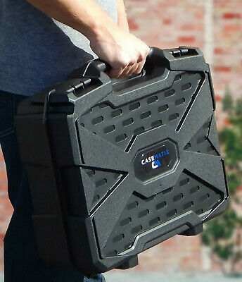 17 Inch Audio Mixer Carrying Case fits Behringer Xenyx 1202fx Mixer and More 7