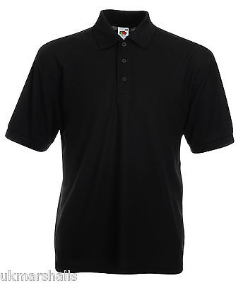 Bulk Buyer Fruit Of The Loom Polo T Shirt 14 Colours All Sizes Bn 2