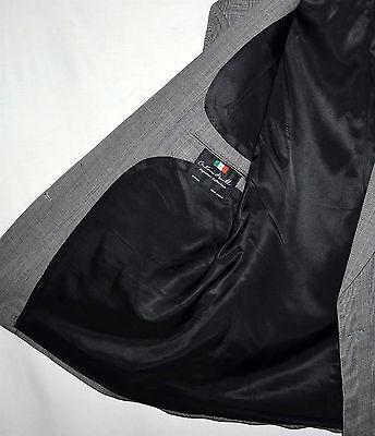 Antonio Parillo Signature Collection Gray Plaid Mens Wool Sport Coat Sz 42 R 4