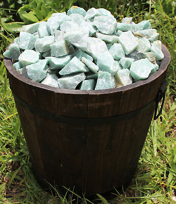 500 Carat Bulk Lot Natural Rough Green Aventurine, Raw Gemstone (100 Grams) 7