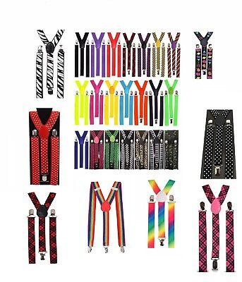80's Neon Accessories for Dance  Hen Stag Fancy Costume Accessories Kids, Women