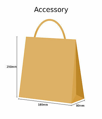 Brown Twist Handle Paper Party and Gift Carrier Bag / Bags With Twisted Handles 3