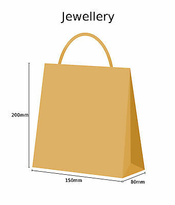 Brown Twist Handle Paper Party and Gift Carrier Bag / Bags With Twisted Handles 2