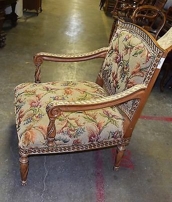 Pair of 20th C. Upholstered Armchairs #5602 3