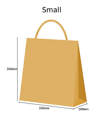Brown Twist Handle Paper Party and Gift Carrier Bag / Bags With Twisted Handles 4
