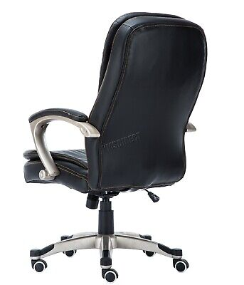 WestWood Executive Office Chair – Leather Swivel Computer High Back OC01 Black 6
