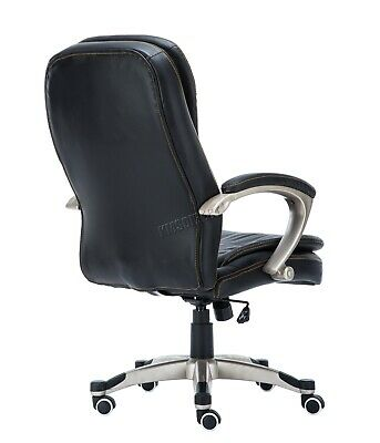WestWood Executive Office Chair – Leather Swivel Computer High Back OC01 Black 4