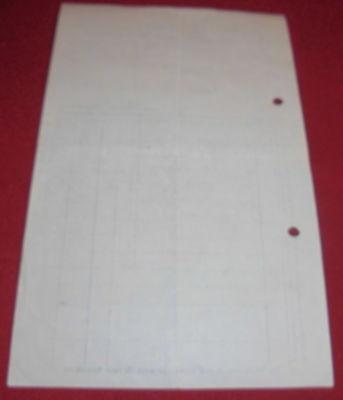 rechnung alt antik jos blessing ravensburg spiegel fensterglas glas  1921 papier 3