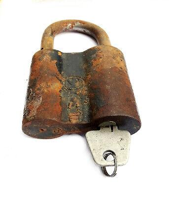 Antique Padlock Soviétique. USSR / Ссср .Condition of Marche. with 3 Keys 4