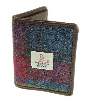 Harris Tweed Card Holder Wallet Available In 17 Colours  LB2006