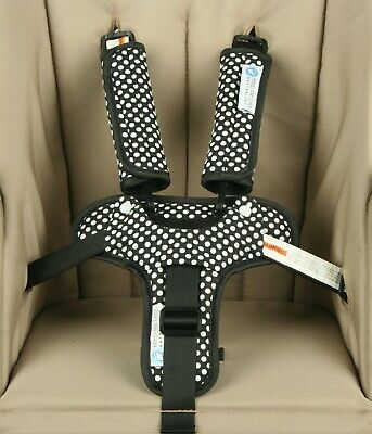 Keep Me Cosy™ Pram Liner Set + Harness & Buckle Cosy (Ink Spot) 3