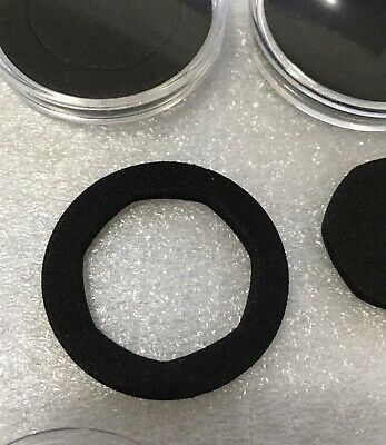 10 X 38mm 50p Coin Capsules With Foam Insert High Quality Plastic Uk Seller 5