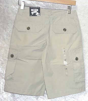 e1f8bd5561 ... Tommy Hilfiger Boys Cargo Shorts Solid Cotton Youth size 6 8 10 12 18  NEW 4