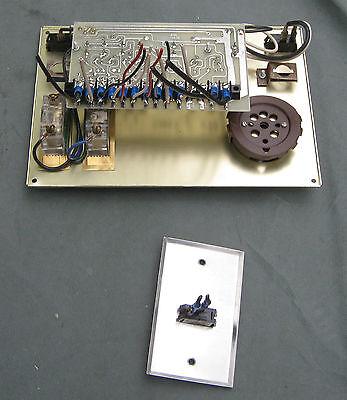 1970'S VINTAGE RV Motorhome Monitor Display Panel & Switch 1975 Dodge  Empress