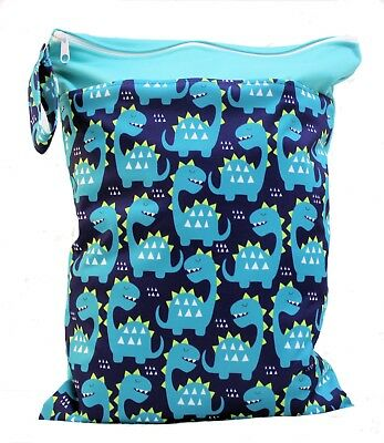 Waterproof Kids Wet Bag 30x40cm for Nappies, Clothes, Swimmers, nappy bag eco 9