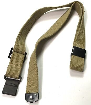 Wwii Us M1 Garand Rifle Canvas Carry Sling-Od#3 2