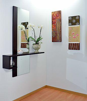 Mobile Moderno Ingresso Design Con Specchio E Consolle