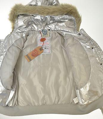 Salty Dog Metallic Silber Winterjacke Gr. 164 Neu mit Etikett 2