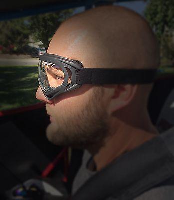 Drift Youth Goggles UTV RZR Glasses Eye Wear Kids Childrens Dust Dirt CLEAR LENS Auto Parts & Accessories ATV, Side-by-Side & UTV Parts & Accessories
