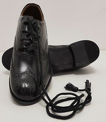 "Scottish Ghillie Leather Kilt Brogues Shoes ""48 HOUR SALE"" 6"