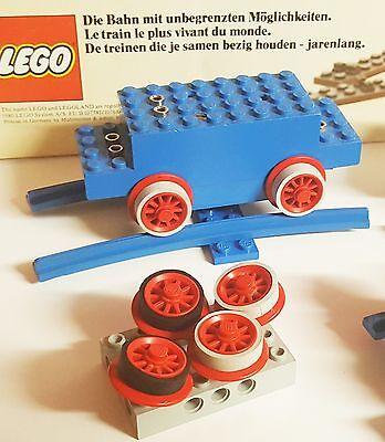 Lego Eisenbahn 60 Stück Haftreifen30x Schwarz 30x Grau 12v45v
