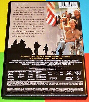 NACIDO EL CUATRO DE JULIO / Born on the Fourth of July + TOP GUN - DVD R2 5