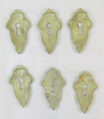 6 Nozzles for Furniture Antique Bronze Stud Cover Lock Antique Art CH28 7