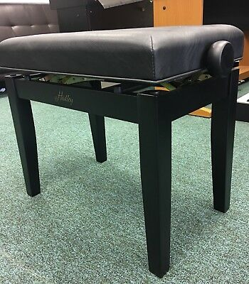 Adjustable Piano Stool in Matt Black, Brand New, Boxed, Hadley HA200 - Save £110 6