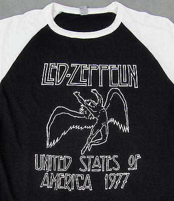 452bf9fd LED ZEPPELIN RAGLAN T-shirt 3/4sleeve Baseball Tee Adult S,M,L,XL ...