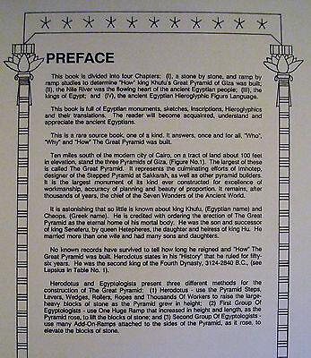 Egypt Pyramid Egyptology Engineering Archaeology Architecture Book 1990 3