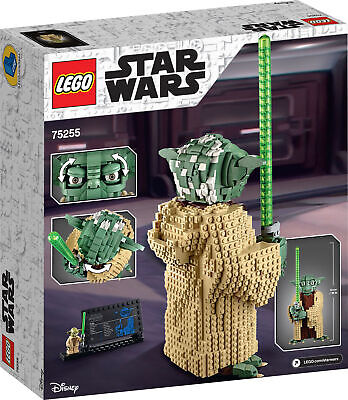75255 LEGO Star Wars Yoda Figure Collectable Set 1771 Pieces Age 10+ 2
