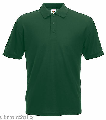 Bulk Buyer Fruit Of The Loom Polo T Shirt 14 Colours All Sizes Bn 9
