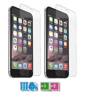 2x Panzerfolie Glas Für iPhone 7 Plus iPhone 8 Plus 9H Schutzglas Schutzfolie 2