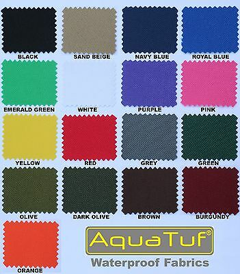 Heavy Duty Tough Waterproof Aquatuf Sd Outdoor Canvas Fabric Material Cover Seat 2