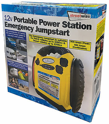 Jump Start 12v 900 Amp Portable Power Pack Station Battery Booster Starter #2 2