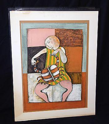 '80s Bolivian Etching Print 18/200 Zodiac Cancer by Graciela Rodo Boulanger (Lea 5