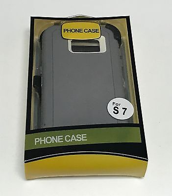 For Samsung Galaxy S7 Defender Case (Belt Clip Fits Otterbox) 6