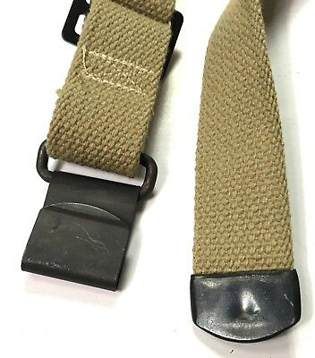 Wwii Us M1 Garand Rifle Canvas Carry Sling-Od#3 3