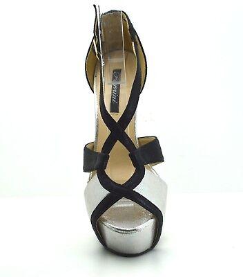 ebdb0e2e354149 ... scarpe donna DECOLTè decollete tacco alto 15 colore metallizzo Mary  Jane plateau 5