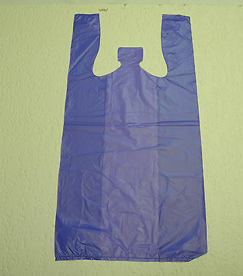 Plastic T-Shirt Bags with Handles You Pick Lot & Colors & Size 3