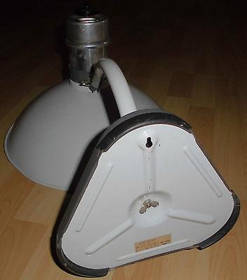 arzt tisch / wand lampe wärme alt top deko strahler thermolite super 60 / 70er 10
