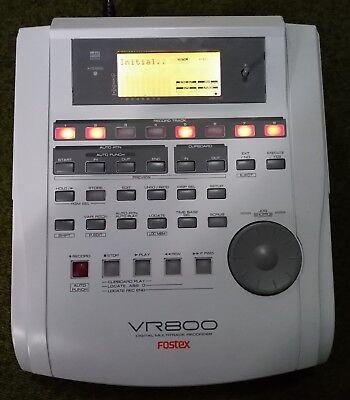 FOSTEX VR800 Registratore Digitale Multitraccia 4